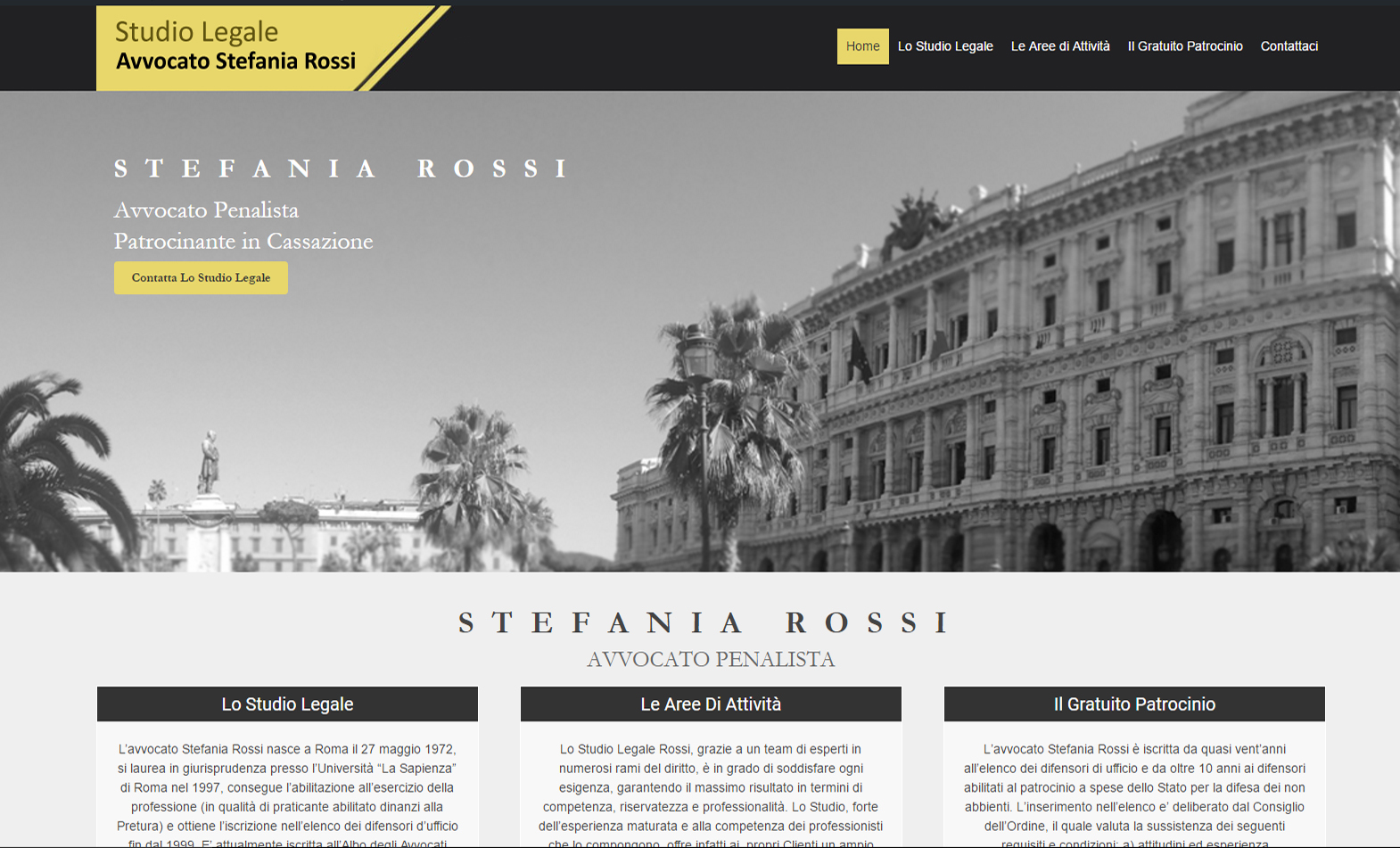 Avvocato Stefania Rossi