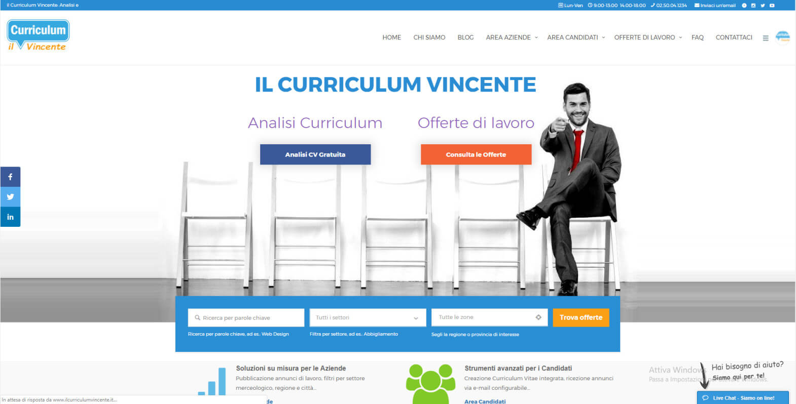 Il Curriculum Vincente
