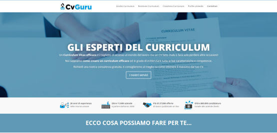 CV Guru - Gli Esperti del Curriculum